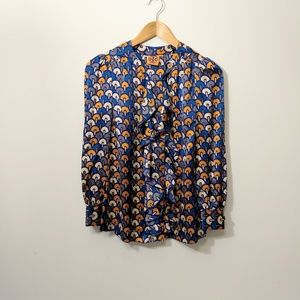 Tory Burch multicolor silk blouse